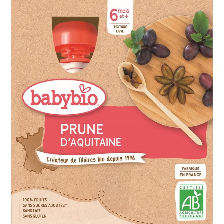 Gourdes prune d'Aquitaine - 4x90 gr 611709