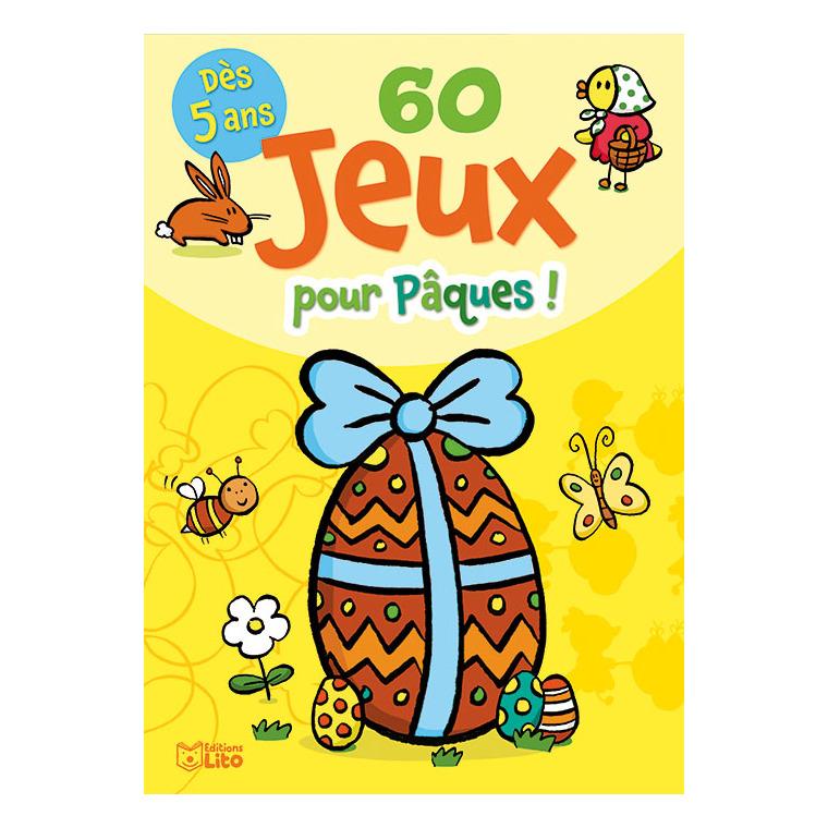60 Jeux Pour Pâques ! Bloc Jeux 5 ans Éditions Lito 612315