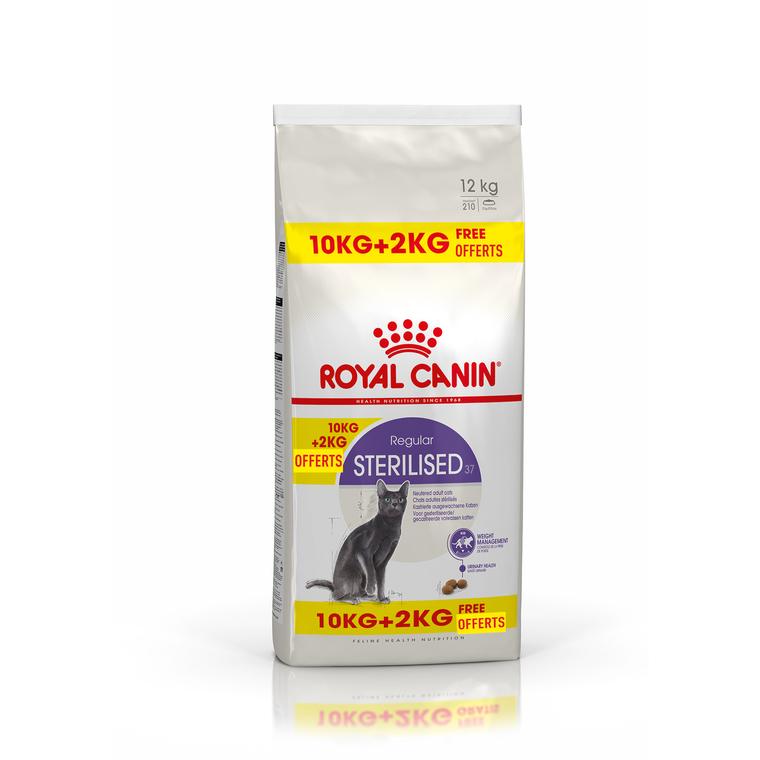 Croquette 12kg chat stérilisé Royal Canin 612630