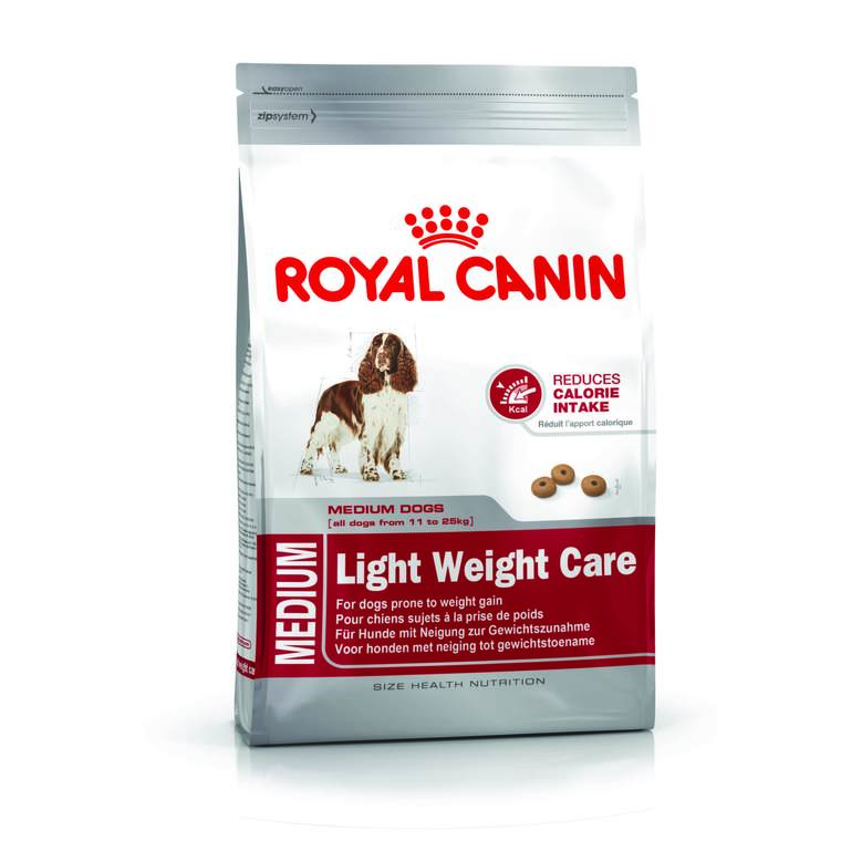 Croquette 9kg Medium adulte light Royal Canin 612636