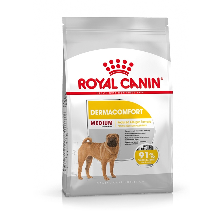 Croquette 10kg Medium adulte dermaconfort Royal Canin 612643