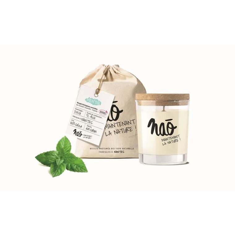 Bougie parfumée bio Nao menthe - 200 g 615351