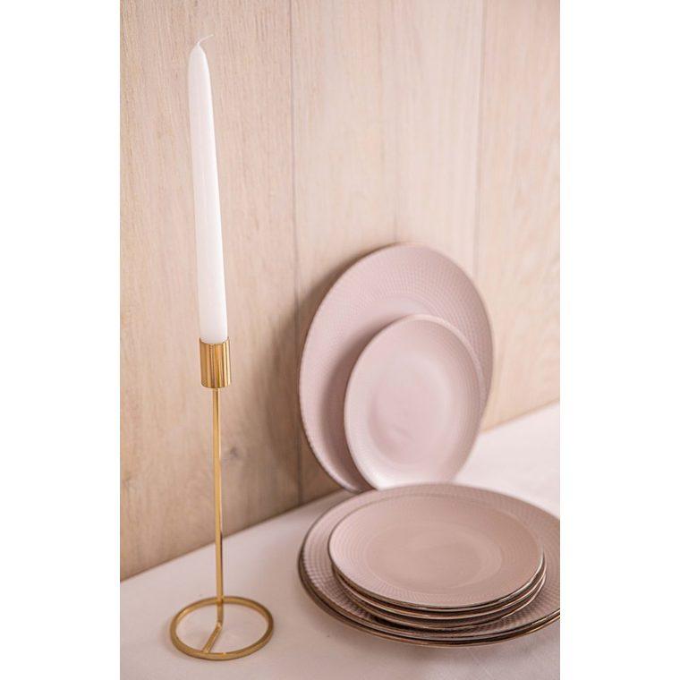 Petite assiette beige dolom Ø 19,5 cm 616690