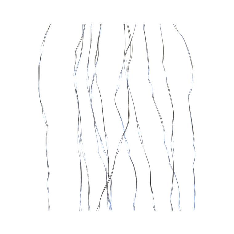 Micro LED argent pour sapin extérieur – blanc froid 617577