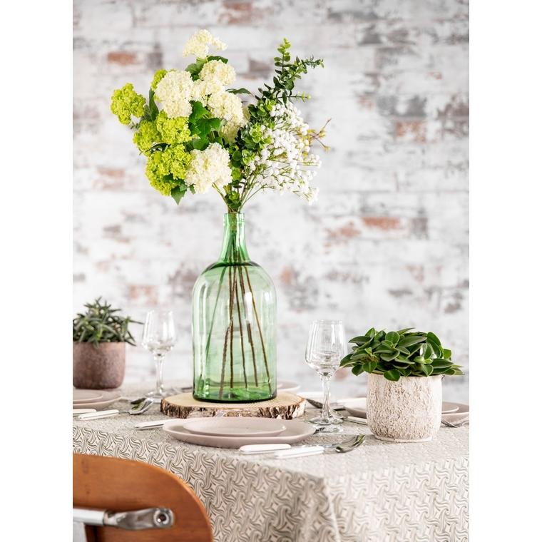 Vase bouteille Freddy en verre Ø 19 cm x H 40 cm 623862