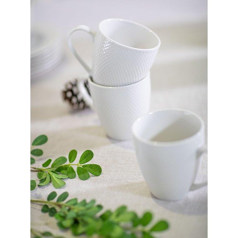 Mug en porcelaine blanche de 40 cl 623947