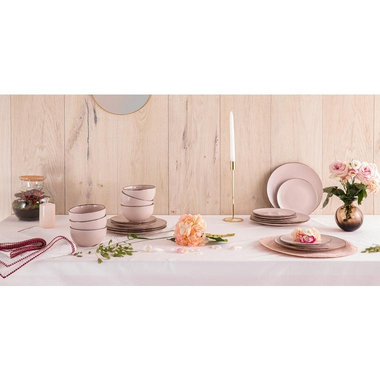 Set de table rose Ø 38 cm 624590