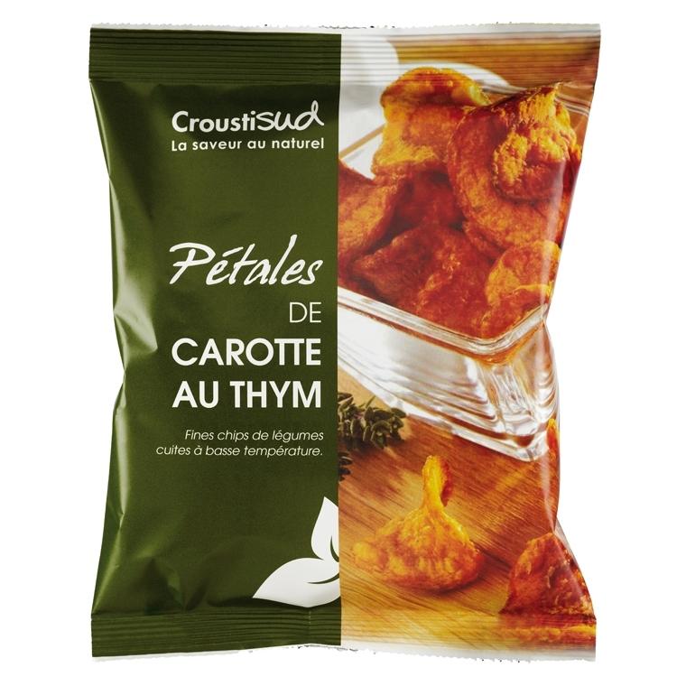 Pétales de carotte au thym - 70 g 62505