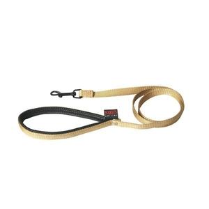 Laisse chien nylon 16mm / 120cm beige 626708