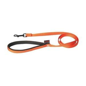 Laisse chien nylon 25 mm / 120 cm orange