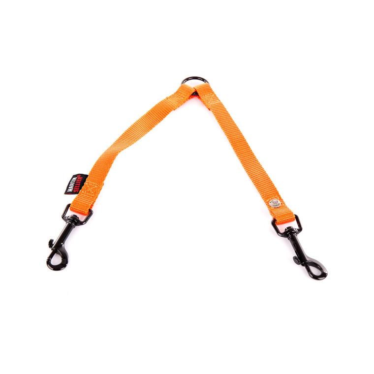 Accouple en nylon orange 50 cm 626716