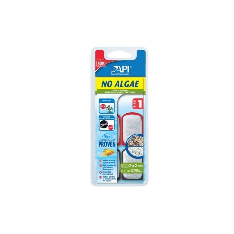 Recharge Filtre aquarium API Rena No Algae size 1 x4 626830