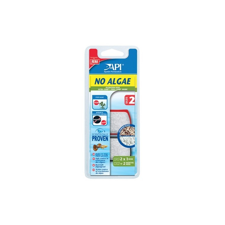Filtre aquarium API Rena No Algae size 2 x2 626833