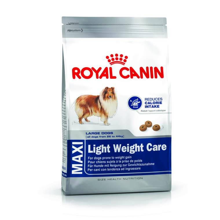 Croquettes Royal Canin Maxi light weight care 15 kg +3 offert 62717