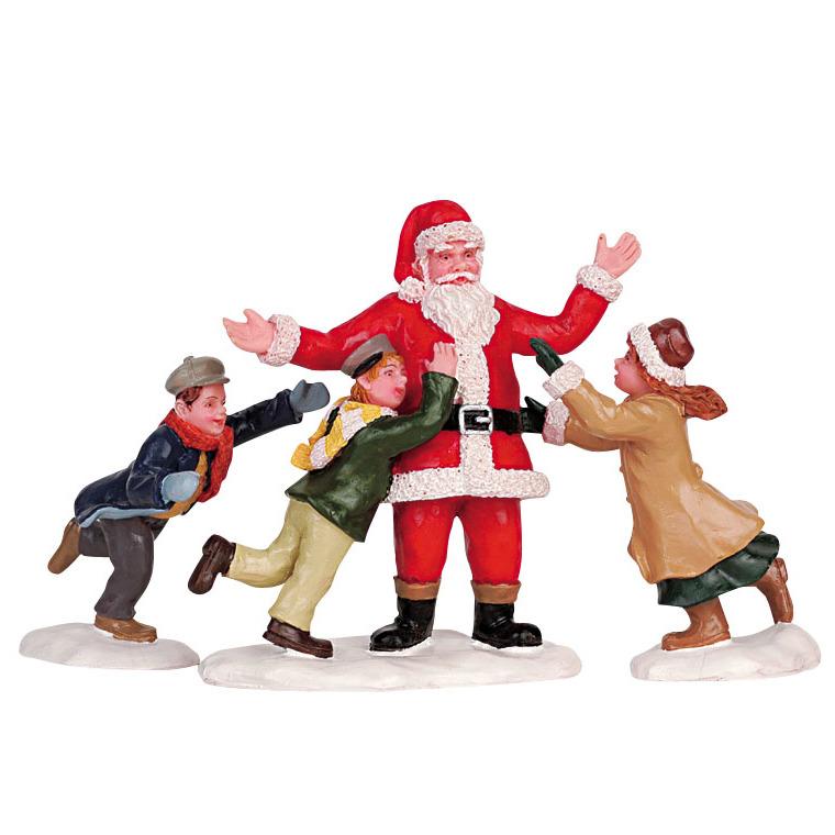 Figurine Lemax Père Noël collection Caddingtion Village 627586