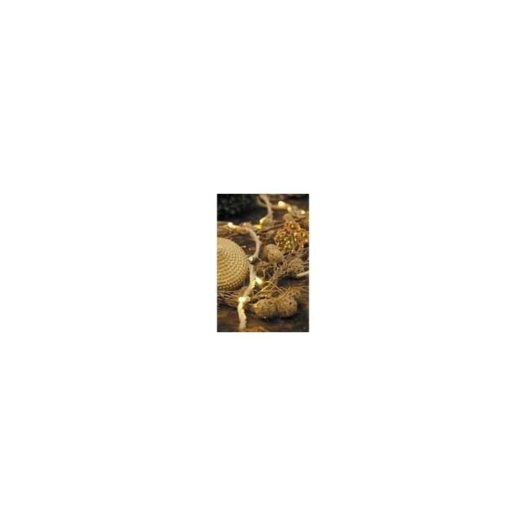 Guirlande lumineuse Flicker LED high speed blanc chaud 6m 62813