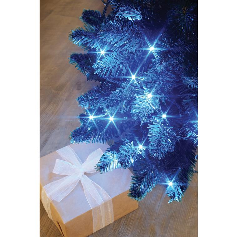 Guirlande lumineuse Flicker bleue 3,5 mètres