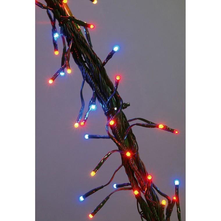 Guirlande lumineuse Flicker 25 mètres multicolore 628435