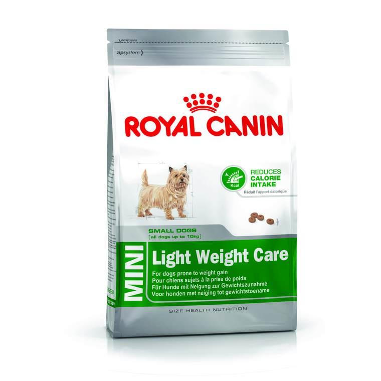 Croquette 4kg Mini adulte light Royal Canin