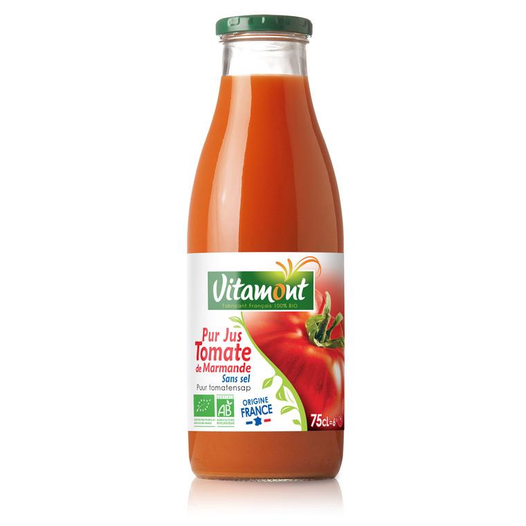 Jus de tomate bio 75 cl