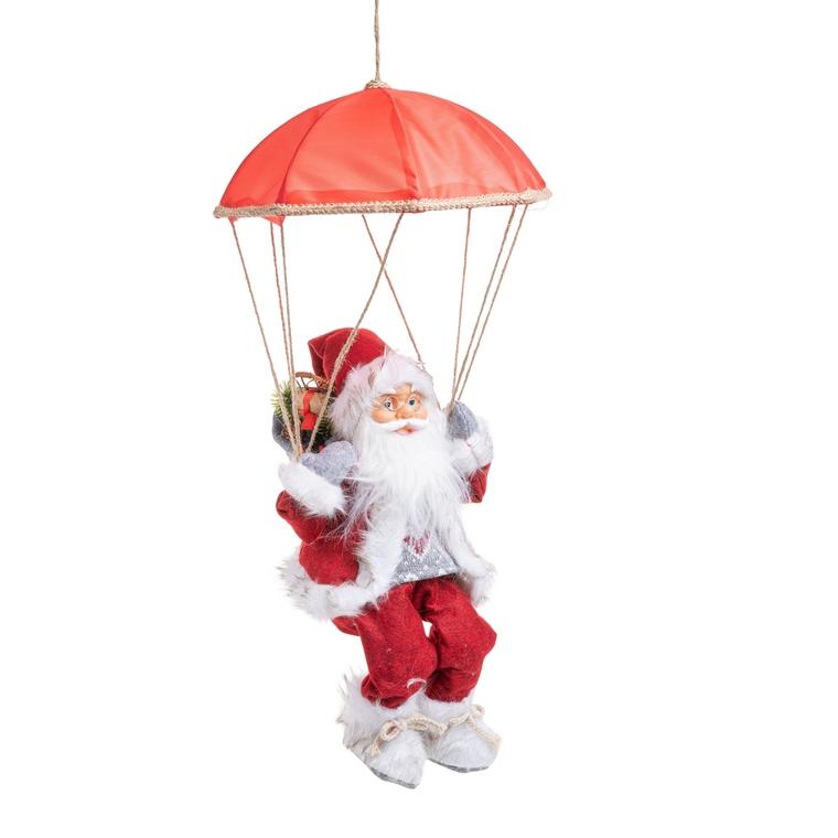 Père Noël Prachute 46 cm 634993