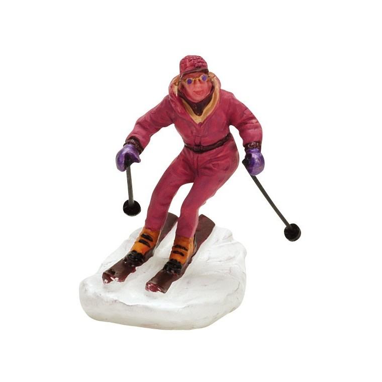 Figurine Lemax Skieuse 636228