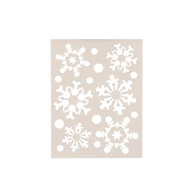 Pochoir flocons de neige - 21x30 cm 636476