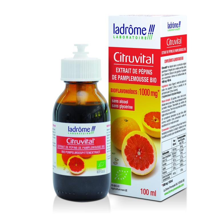 Citruvital Extrait de pépins de pamplemousse 100 ml LA DRÔME PROVENÇALE 63662