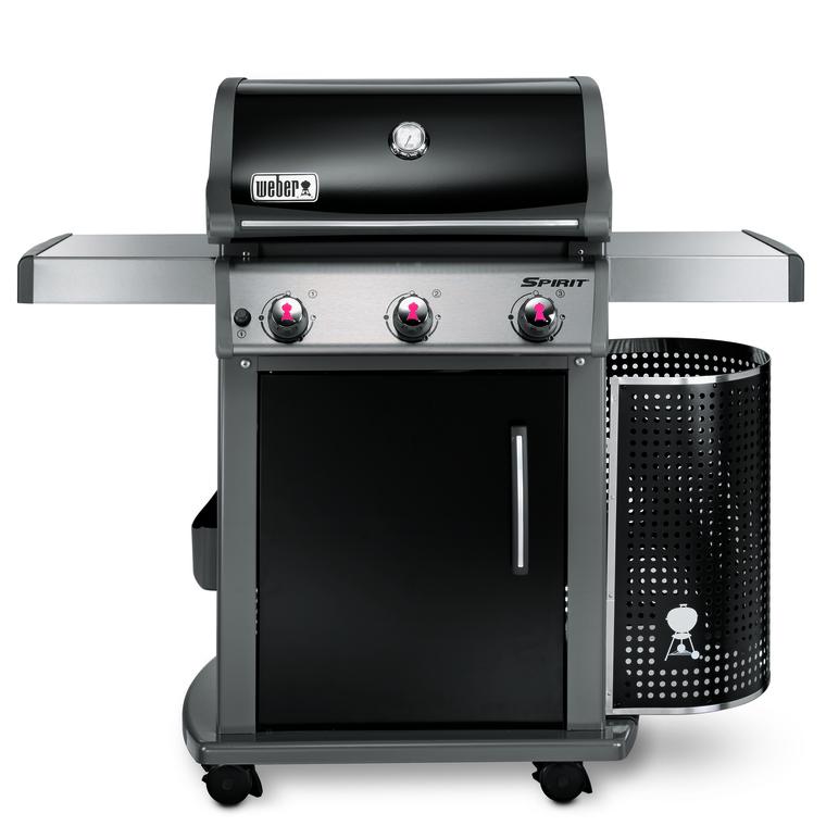 Barbecue à gaz Weber Spirit Premium E-310 noir