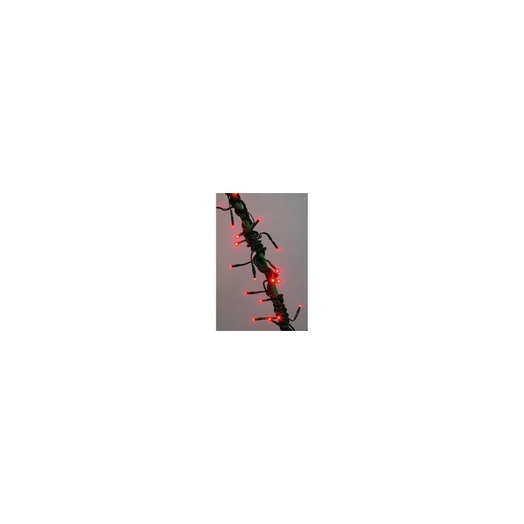 Guirlande lumineuse Flicker 288 LED rouges 25 m 637996