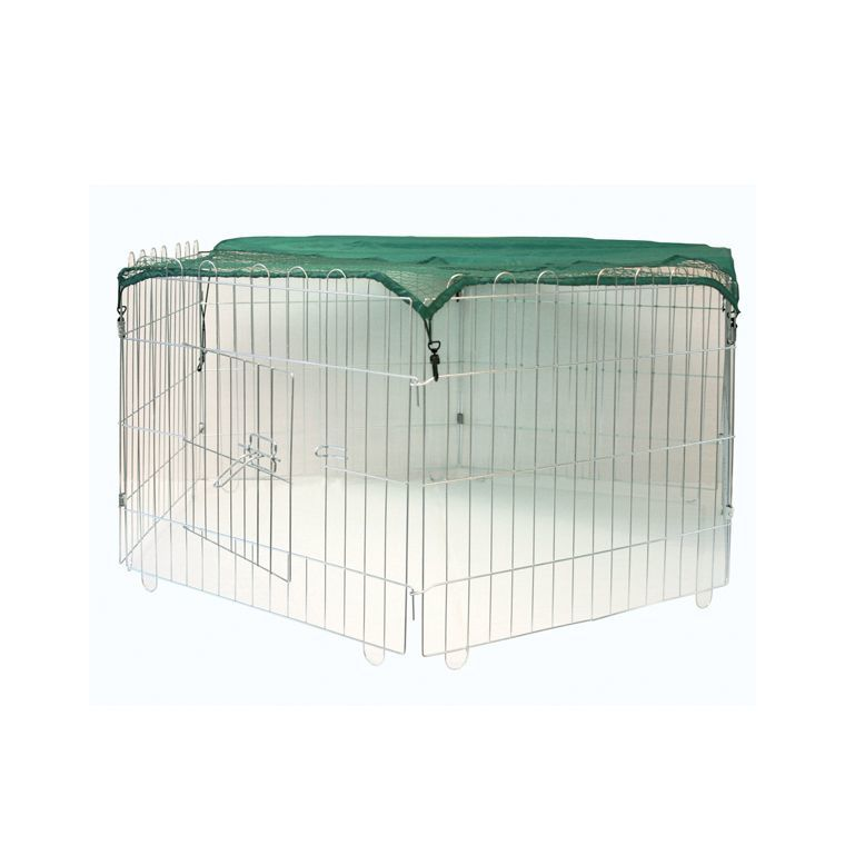 Enclos extérieur hexagonal 60 x 60 cm