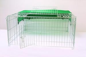Enclos exterieur rectangulaire pour volailles