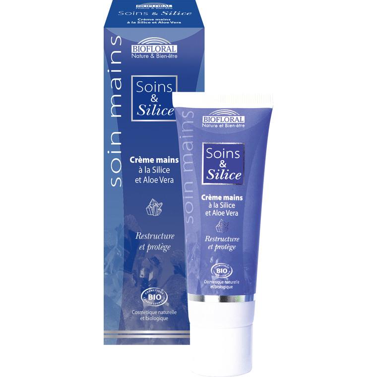 Crème pour les mains à la silice et à l'aloe vera en tube de 50 ml 638415