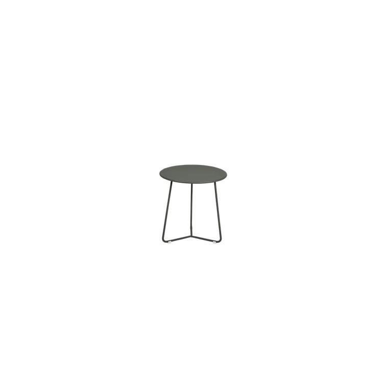 Table basse cocotte coloris romarin de 34 x 36 xcm 641406