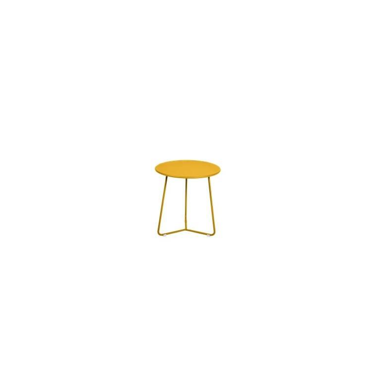 Table basse cocotte coloris miel de 34 x 36 xcm 641407