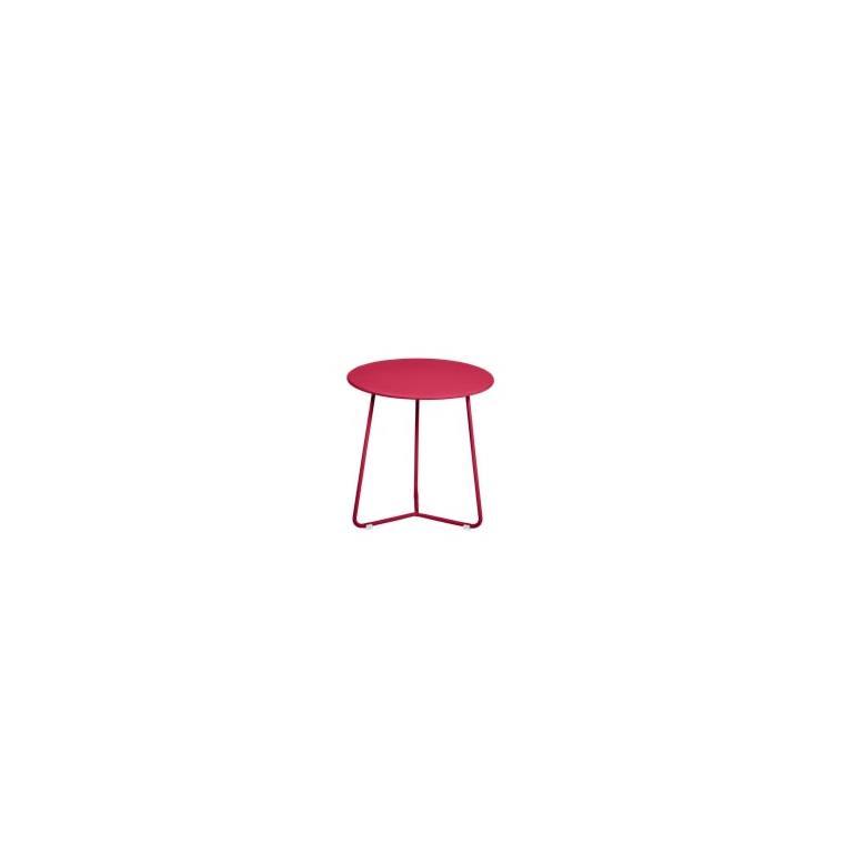 Table basse cocotte coloris rose praline de 34 x 36 xcm 641409