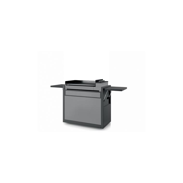 Chariot Premium 75 fermé en acier Forge Adour 189,5 x 55,6, x 104,2 cm 644431