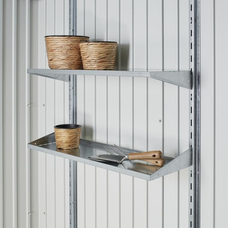 Jeu d'étagères Biohort pour abri de jardin et armoire à outils 647291
