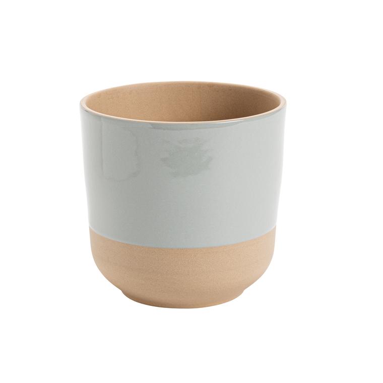 Cache-pot Sandstone Ø 16 x H 16 cm Grès 649865