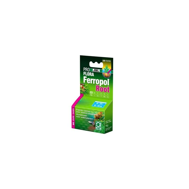 Comprimés d'engrais ferropol root Jbl vert x 30 651180