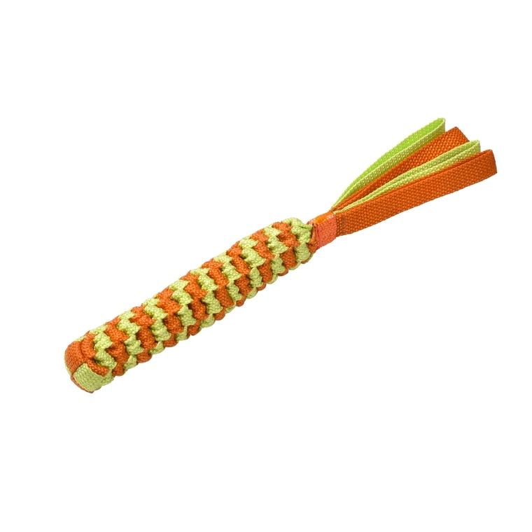 Jouet pour chien Scouby taille S orange et jaune Ø 4 x L 35 cm 652579