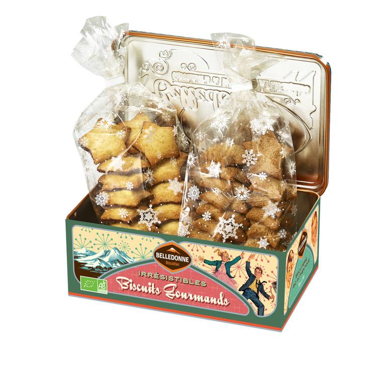 Assortiment de biscuits en boite collector de 260 g 653962