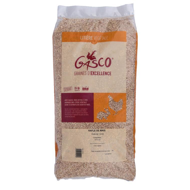 Litière pour basse-cour en rafle de maïs en sac de 12 kg 654302