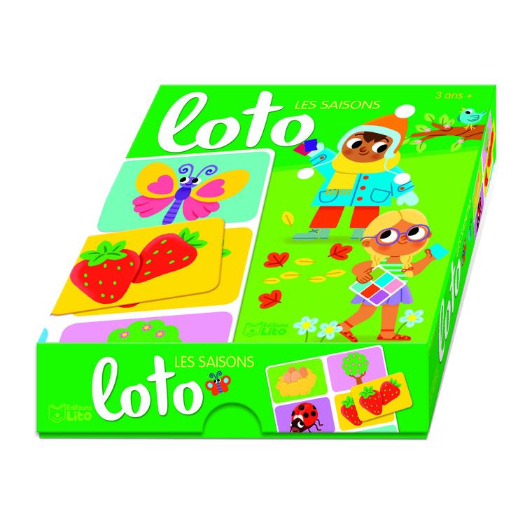 Ma boîte à jeux - Loto - Les saisons 655068