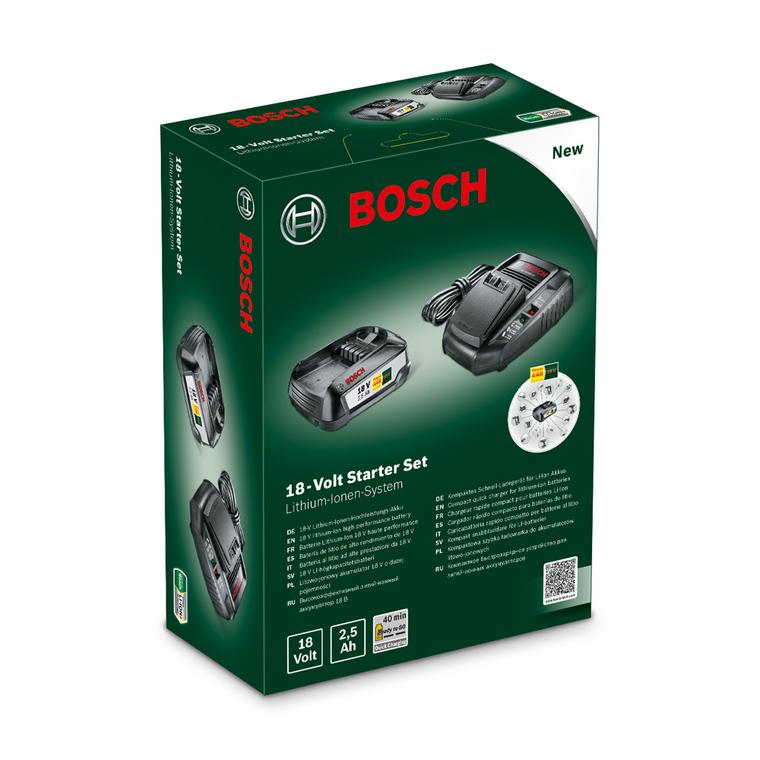 Set Batterie et Chargeur BOSCH 2,5ah 18V 655538