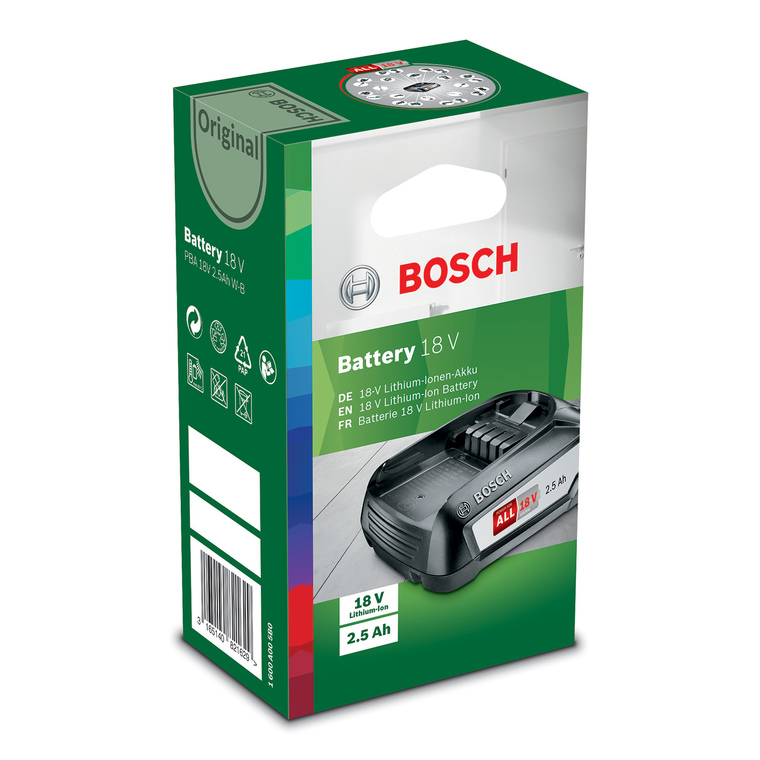 Batterie 18V 2,5Ah 655541