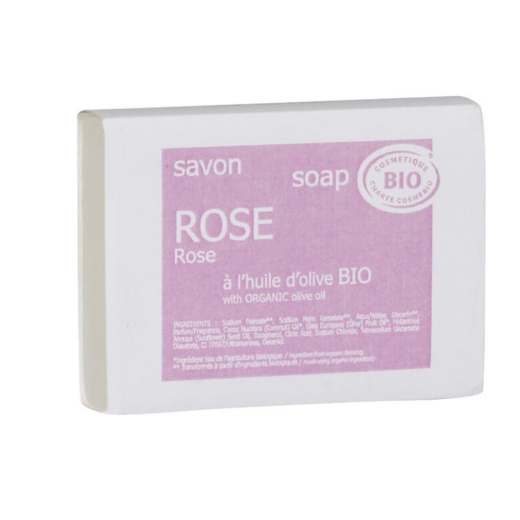 Savon bio Rose 100 g rose 655631