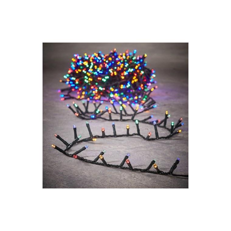 Guirlande lumineuse Snake light 370 LED multicolore 740 cm 655932