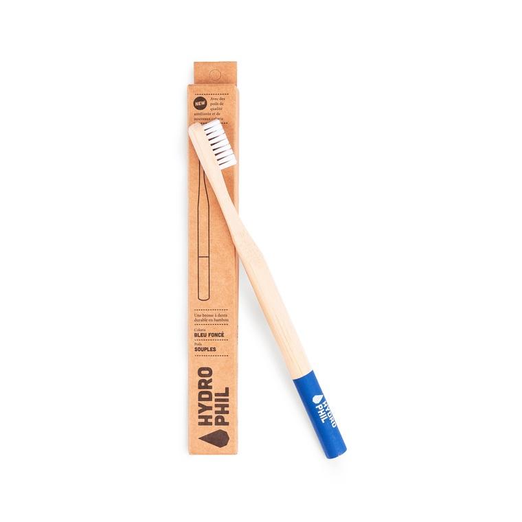 Brosse à dents bambou Souple bleu 656016