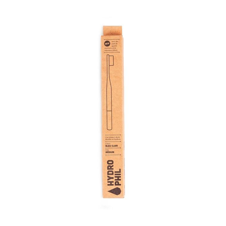 Brosse à dents bambou Médium beige 656020